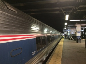 "Philly Train Station - Amtrak - ""Pennsylvanian"""