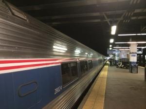 "Philly Train Station - Amtrak - ""Pennsylvanian"""
