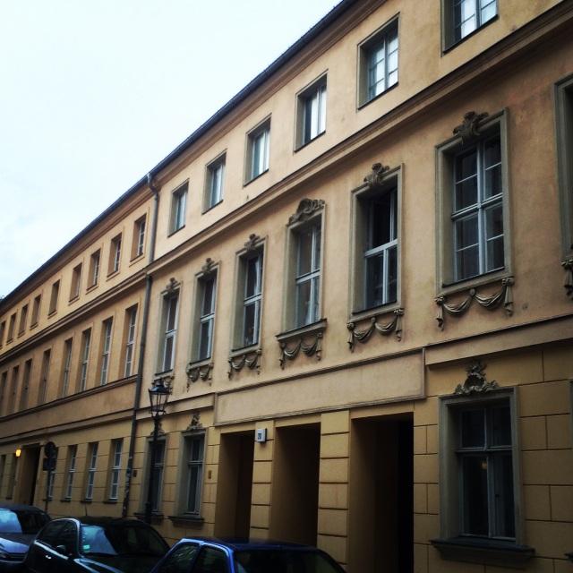 My neighborhood for the week in Mitte, Berlin, Germany