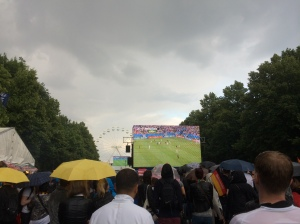 USA-Germany World Cup Match In Progress
