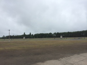 The grounds of Sachsenhausen Concentration Camp today (2014).