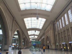 Hauptbahnhof Leipzig, - Largest station in the world (by floor space)