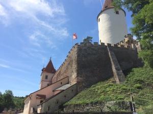 Křivoklát Castle in the Czech Republic