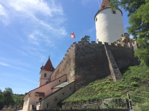 Křivoklát Castle in the Czech Republic