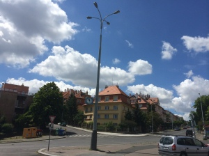 Our neighborhood in Praha 5