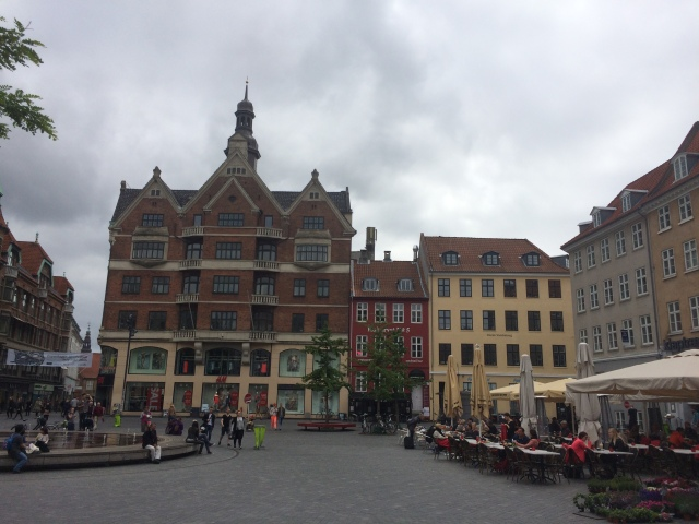 The beautiful Copenhagen city center (a part of it, anyway)