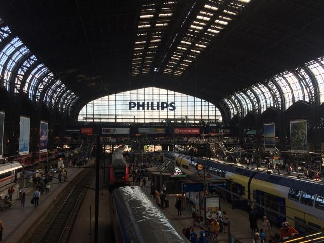 Welcome to Haburg Hauptbahnhof