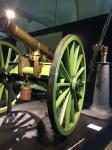 Cannons in the Militärhistorische Museum der Bundeswehr in Dresden, Germany