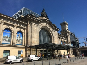 Hauptbahnhof; Dresden, Germany