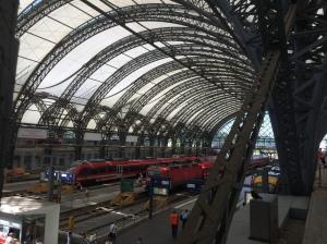 Hauptbahnof; Dresden, Germany