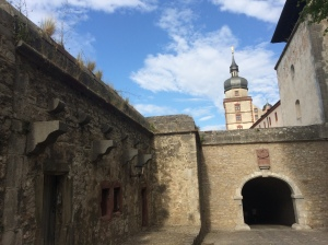 Inside the Marienberg Fortress; Würzburg Germany