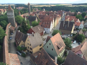 Rothenburg from lookout tower
