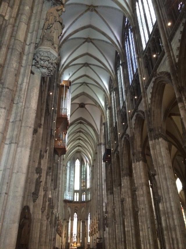 Inside the Cologne Cathedral; Cologne, Germany